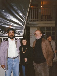 Con Eladio Flecha -Presidente de la FNC Paraguay u Cristina Camusso