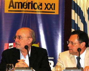 Presentación libro Venezuela en Revolución. Con el embajador de Venezuela Franklin xxxxx
